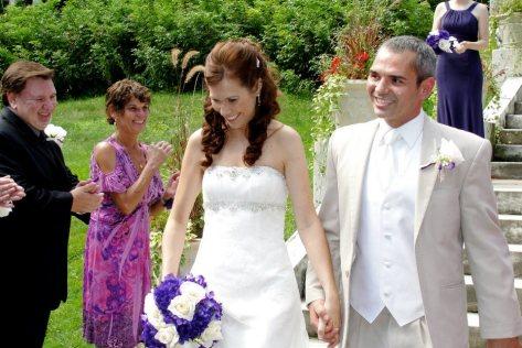 Alison and I wedding photo